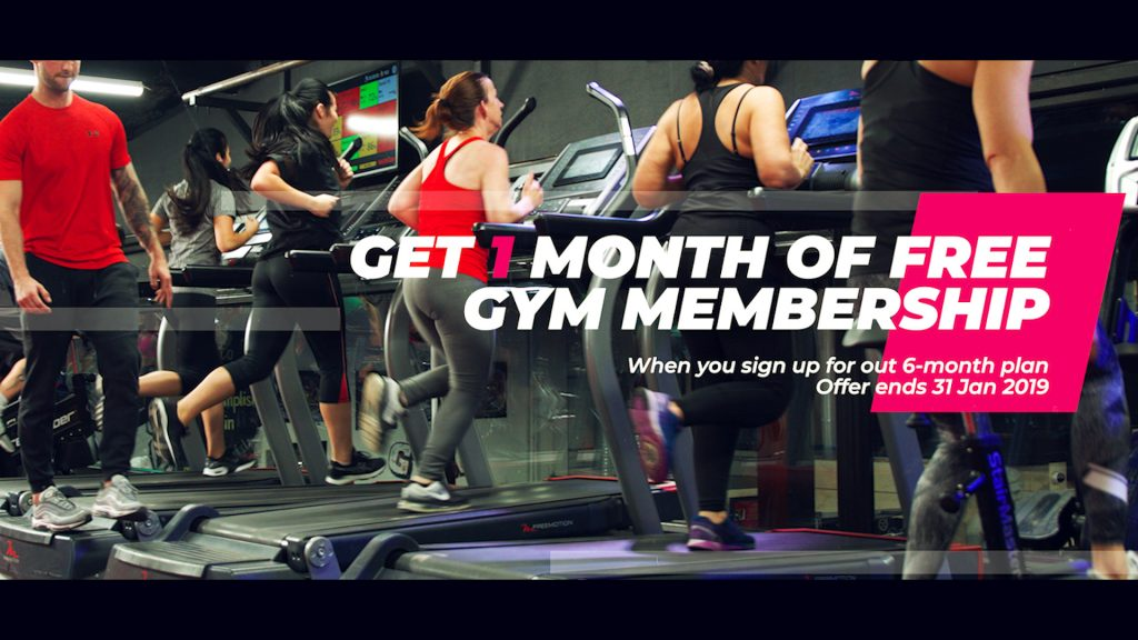 Get 1 month FREE membership - Colosseum Gym